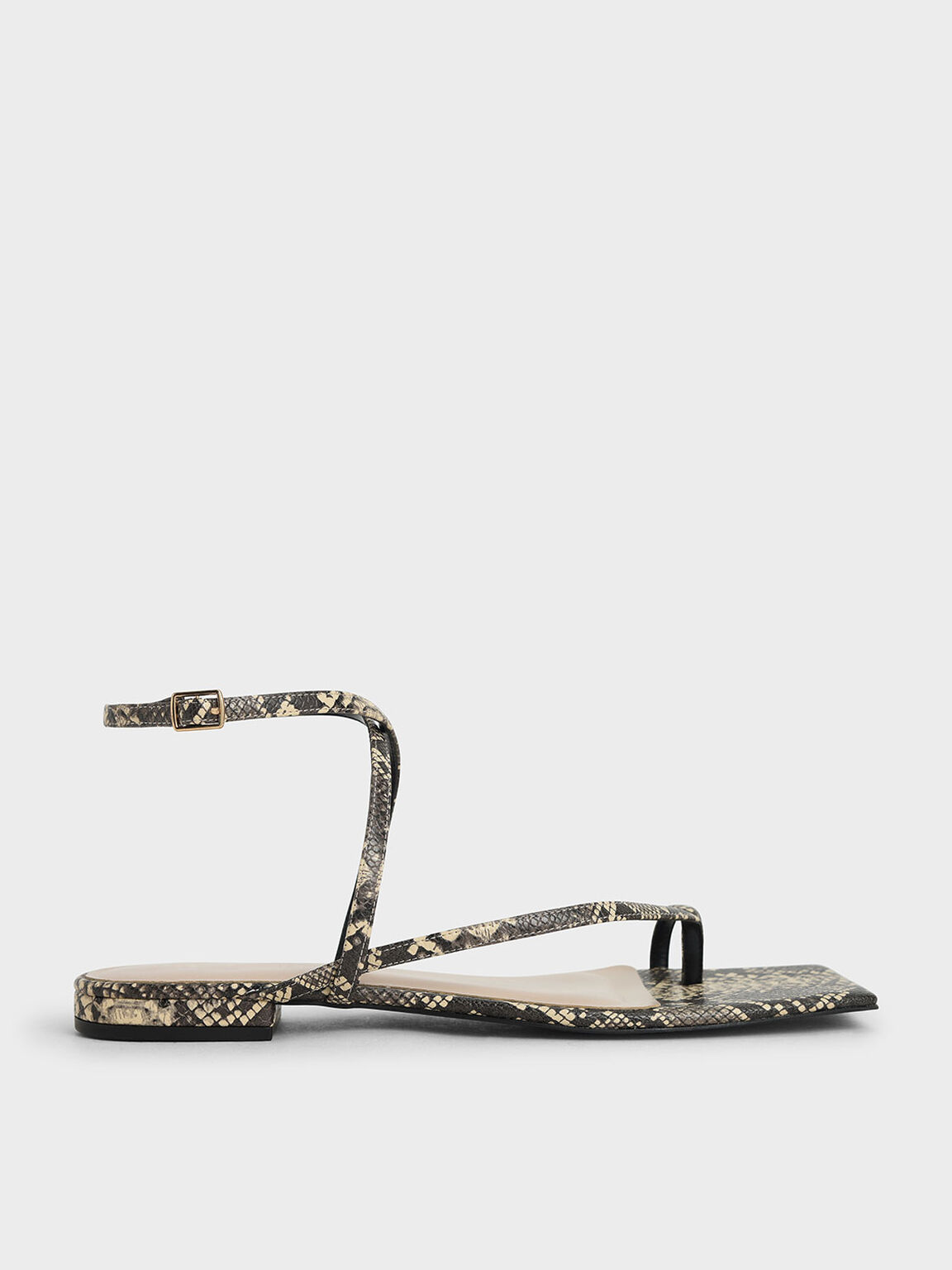 蛇紋斜帶趾環涼鞋, 原色動物紋, hi-res