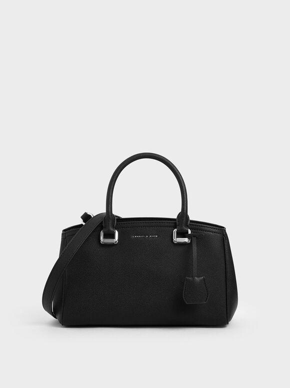 Slouchy Bag, Black, hi-res