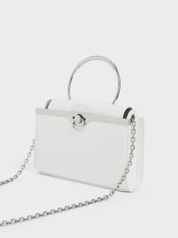Bracelet Clutch, White