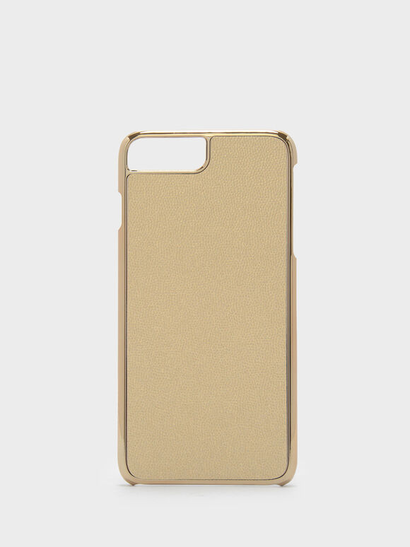 iPhone 7 Plus/8 Plus Textured Case, Gold, hi-res