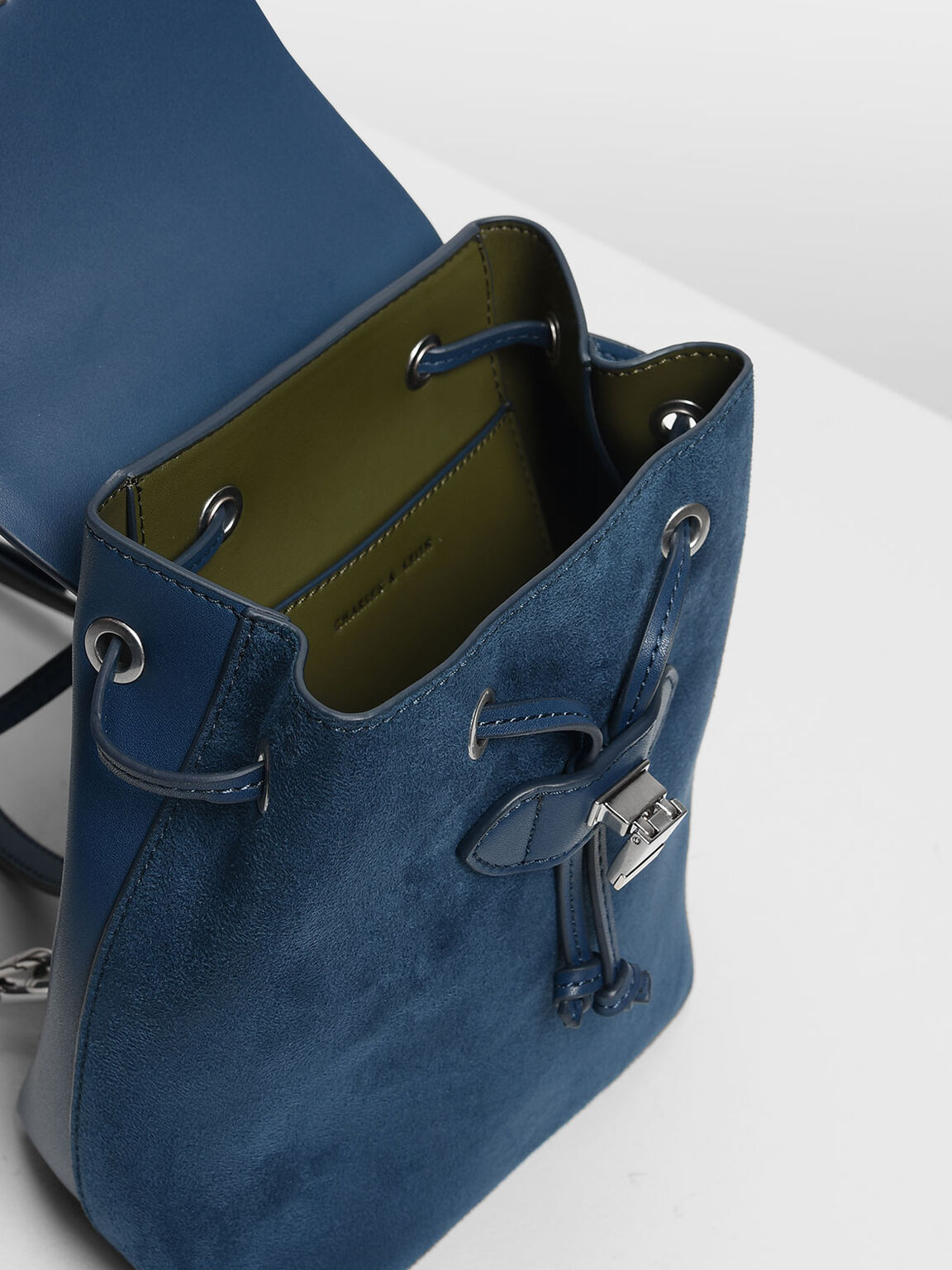 Classic Push Lock Backpack, Blue, hi-res