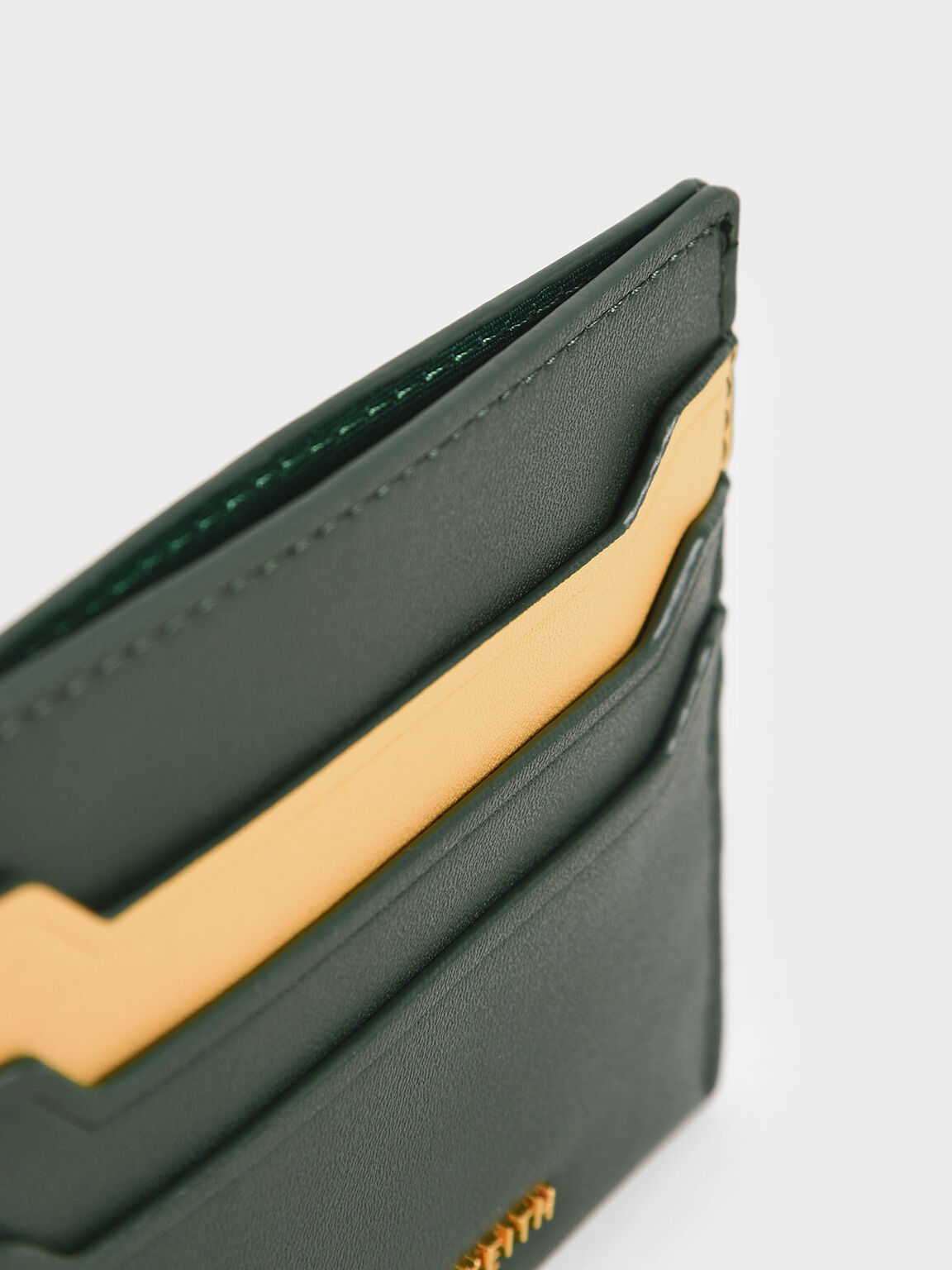 Two-Tone Multi-Slot Card Holder, Multi, hi-res