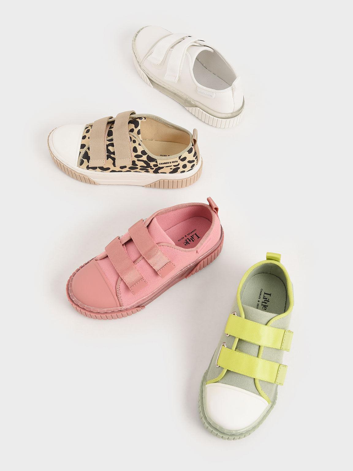 實踐系列:兒童有機帆布餅乾鞋, 米黃色, hi-res