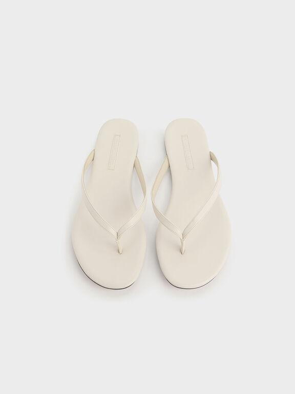 Thong Sandals, Chalk