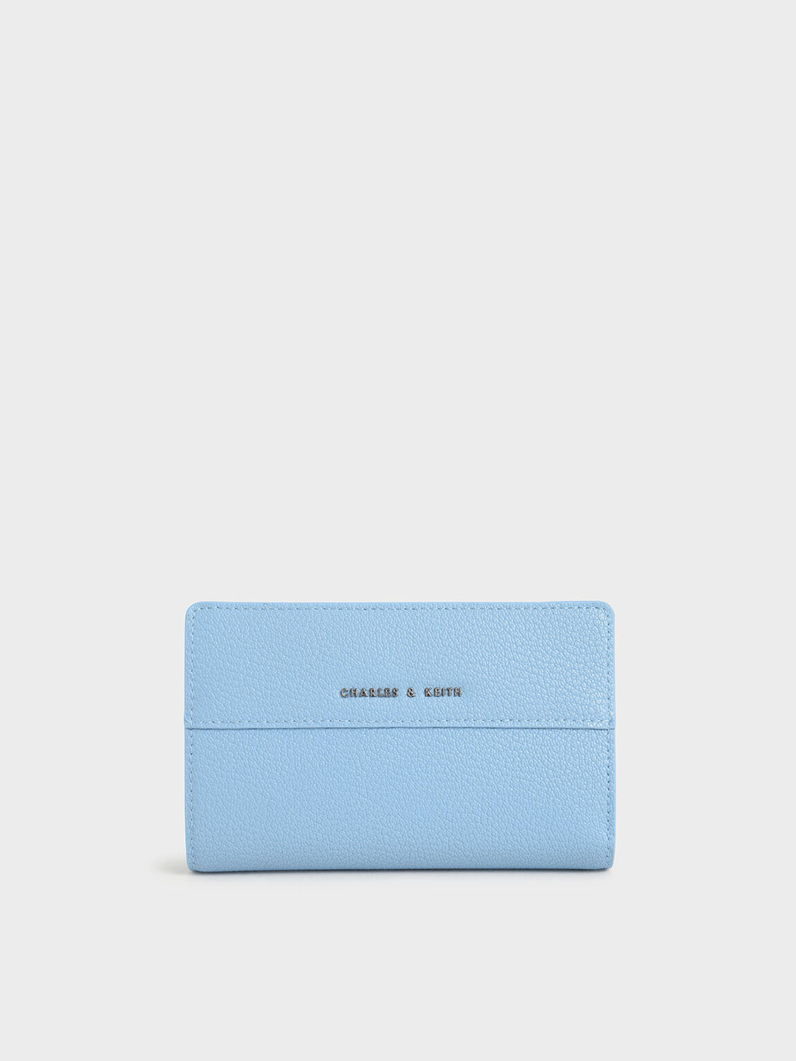Snap Button Wallet, Denim Blue, hi-res