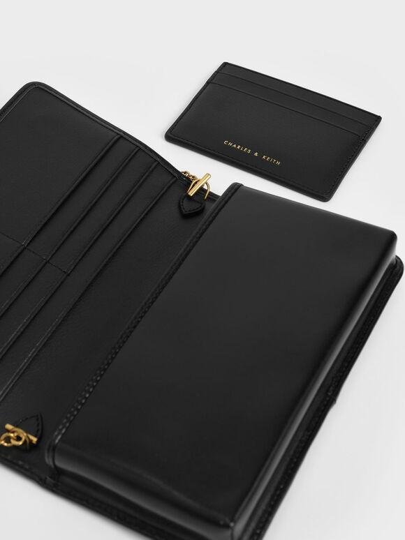 Long Wallet, Black, hi-res