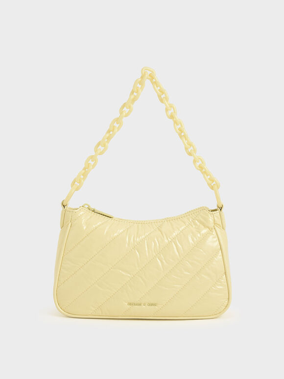 Glow-In-The-Dark Crossbody Bag, Butter, hi-res