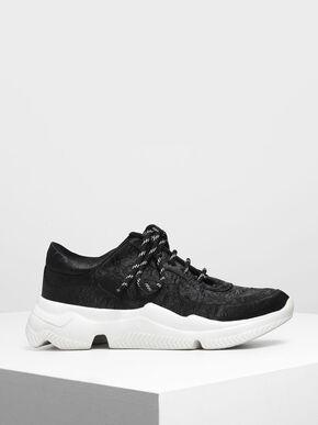 Chunky Sneakers, Black