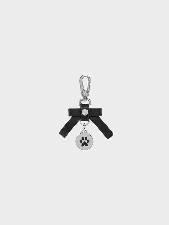 Pet Collar Charm, Black, hi-res