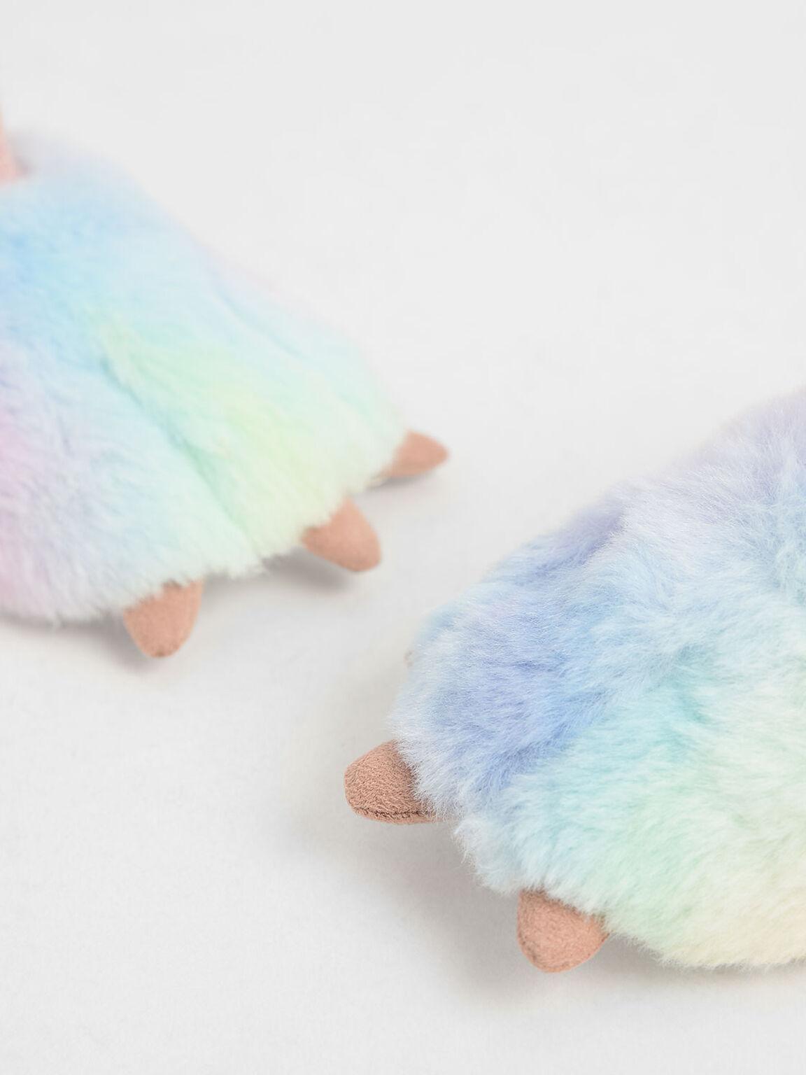Girls' Textured Rainbow Bootie, Multi, hi-res