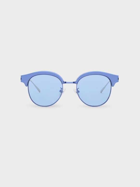 Acetate Wayfarers, Blue, hi-res