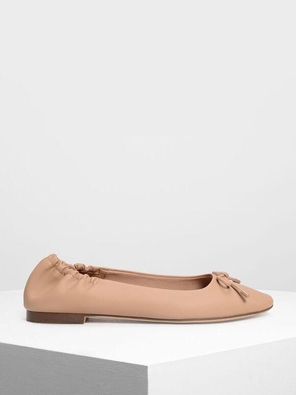 芭蕾舞平底鞋, 膚色, hi-res