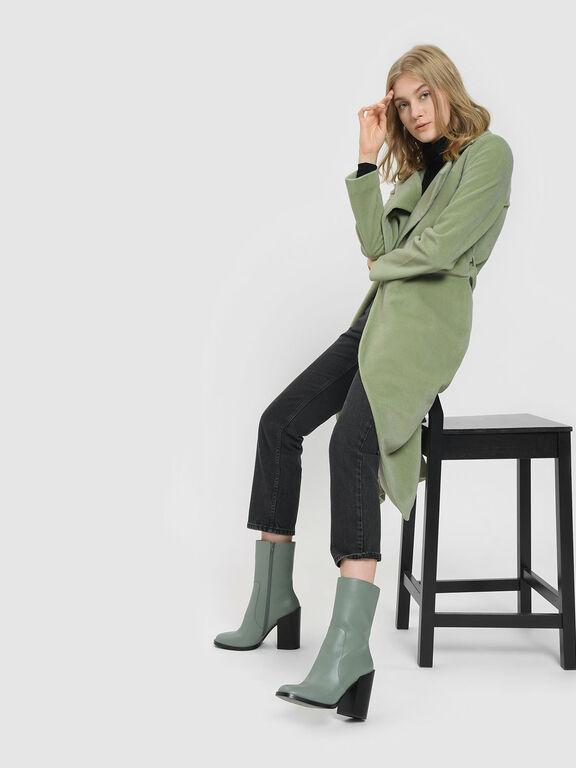 Classic Calf Boots, Sage Green, hi-res