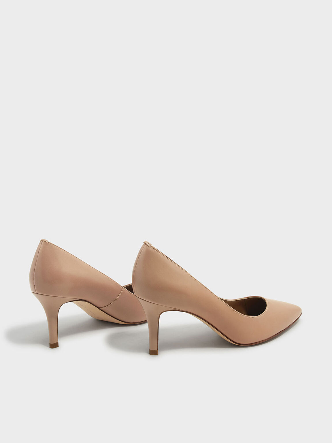 Basic Pointed Pumps, Taupe, hi-res