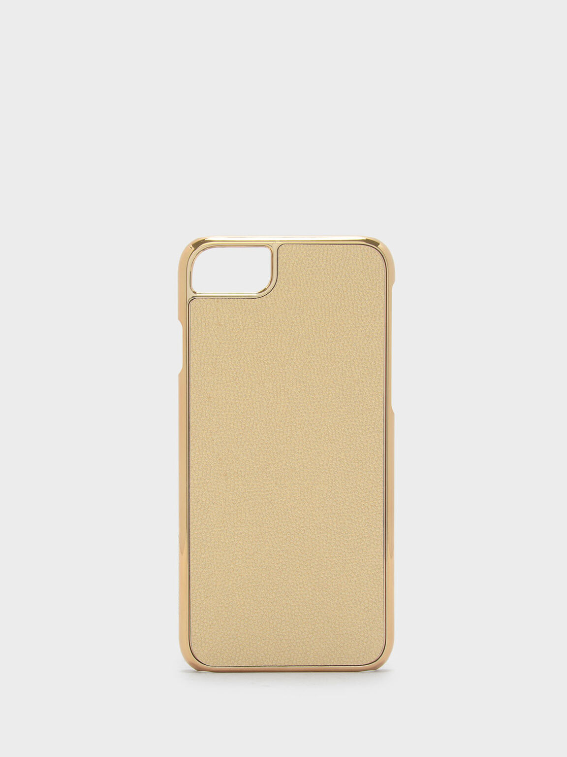iPhone 7/8 Textured Case, Gold, hi-res