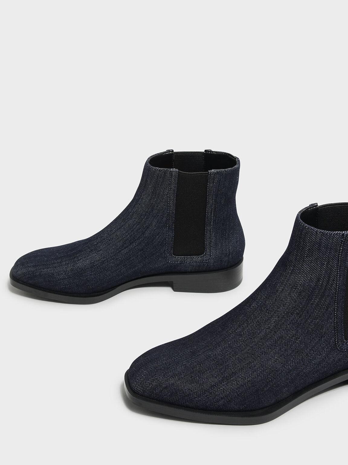 Classic Chelsea Boots, Blue, hi-res