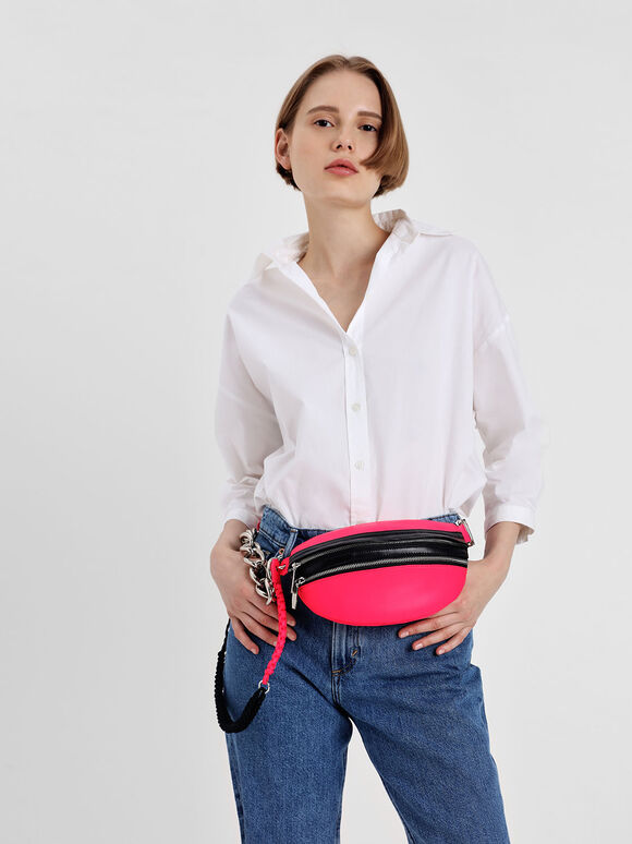 Chain Link Fanny Pack, Multi, hi-res