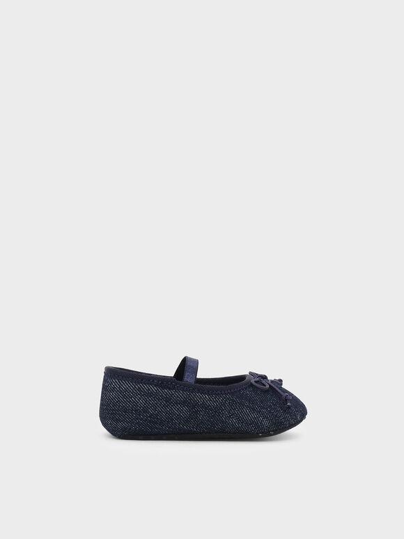 嬰兒瑪莉珍鞋, 藍色, hi-res