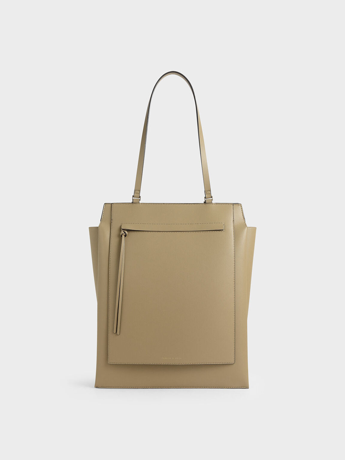 Large Trapeze Tote, Sand, hi-res