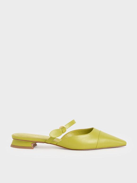瑪莉珍穆勒鞋, 綠色, hi-res