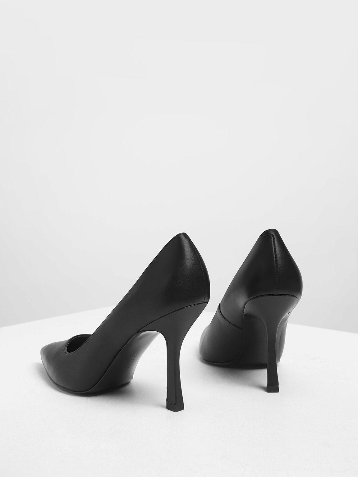 尖頭高跟鞋, 黑色, hi-res