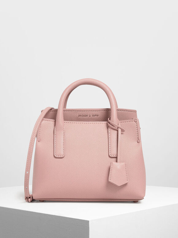 經典手拿包, 粉紅色, hi-res