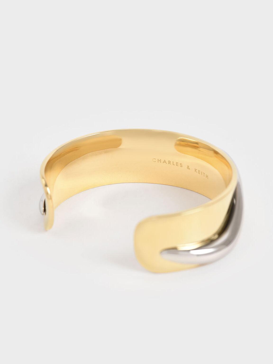 Sculptural Cuff Bracelet, Multi, hi-res