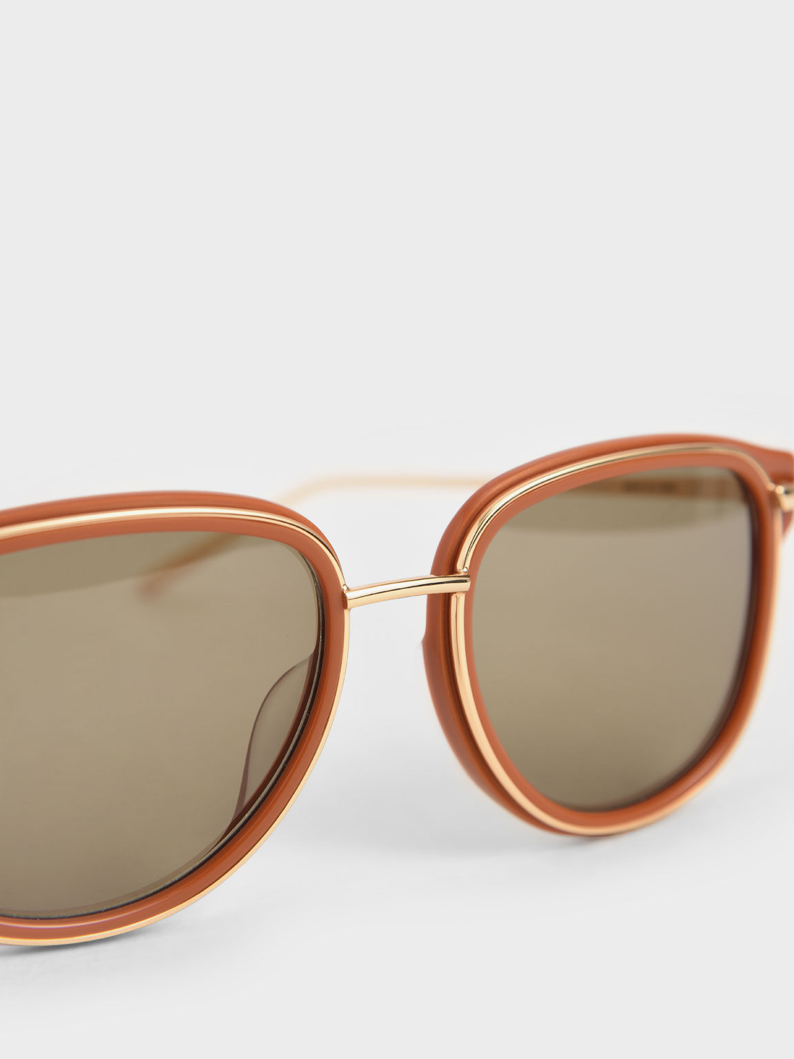 Oval Sunglasses, Clay, hi-res
