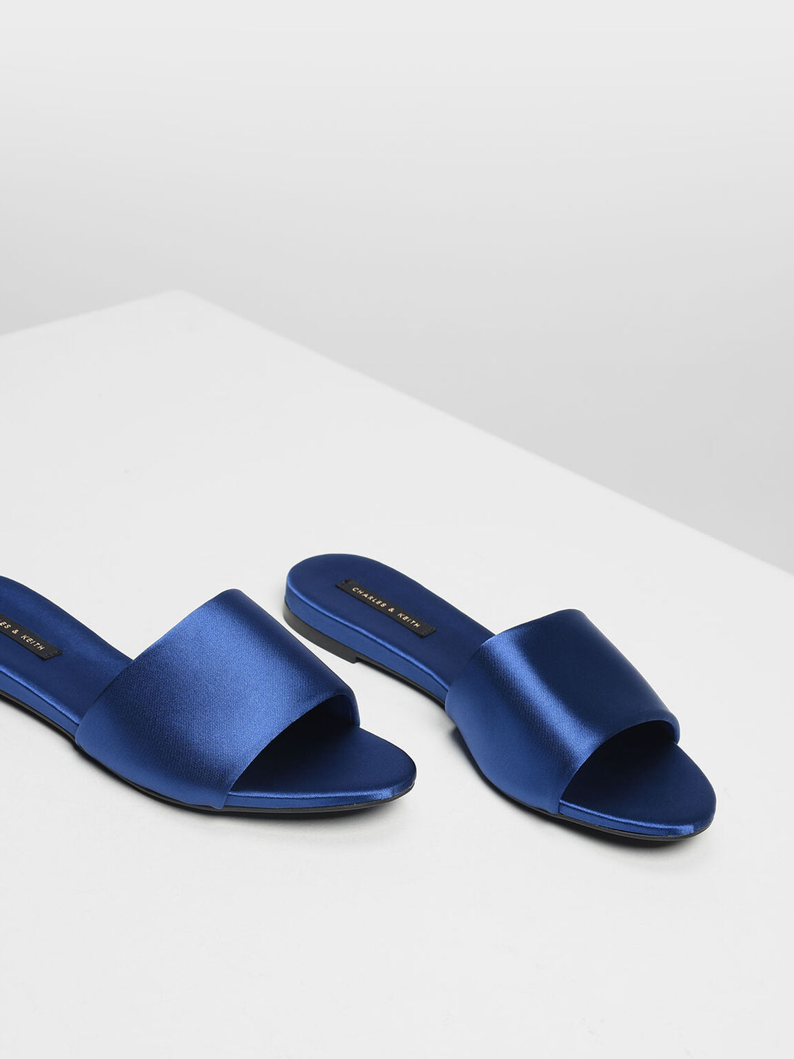 Satin Sliders, Blue, hi-res
