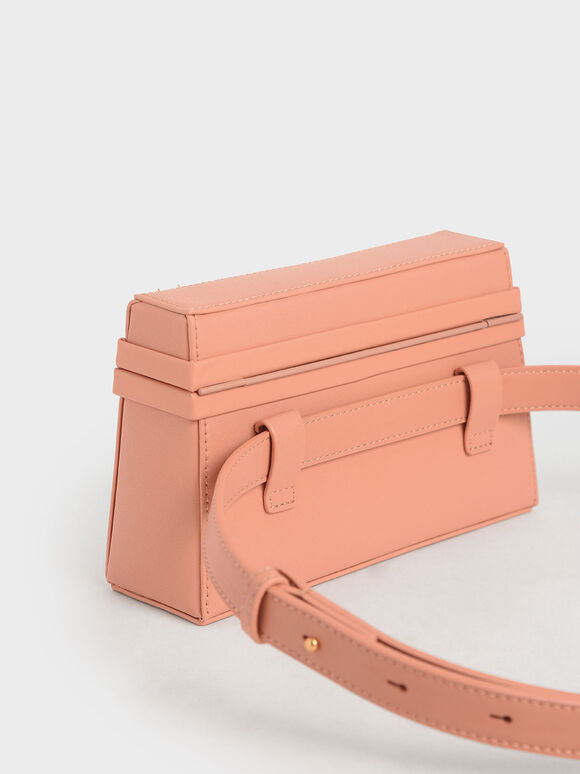 Trapeze Belt Bag, Peach, hi-res