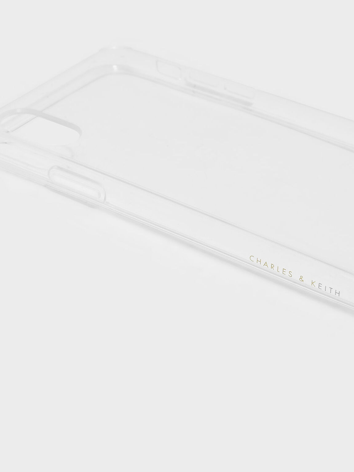 Transparent iPhone Case, White, hi-res