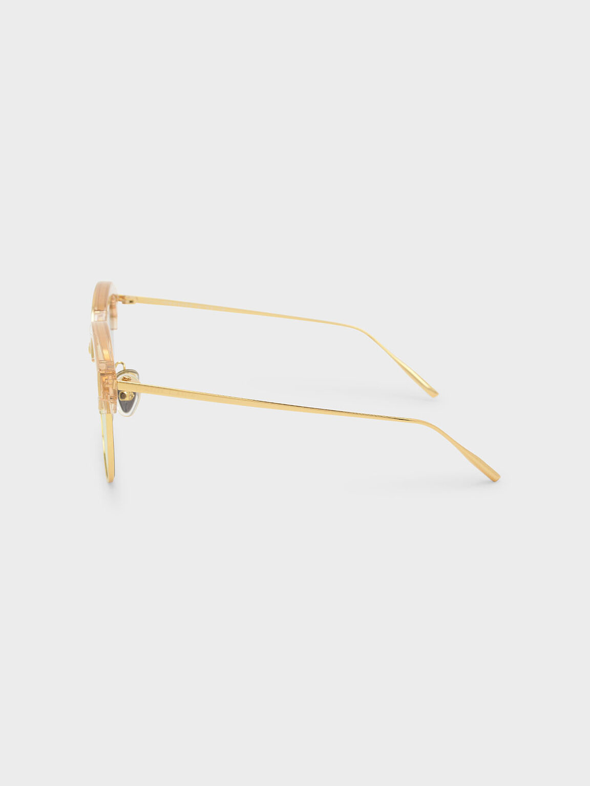 Acetate Wayfarers, Rose Gold, hi-res
