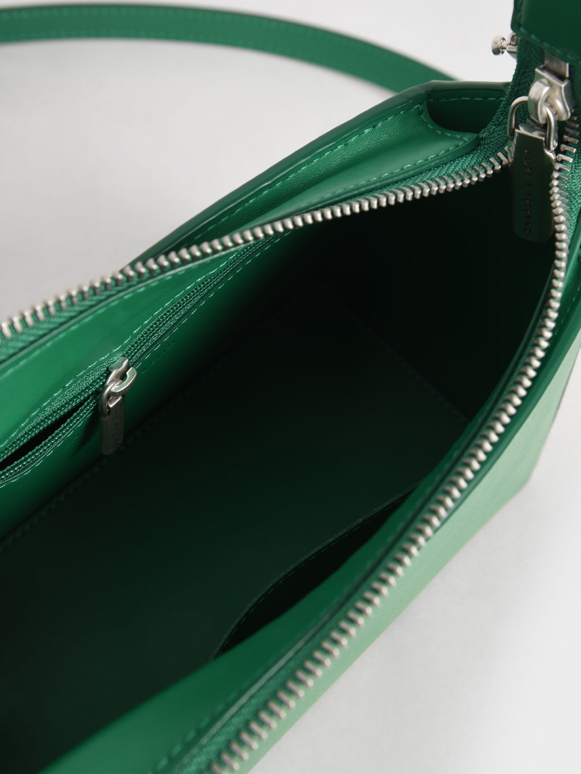 Ring Handle Bag, Green, hi-res