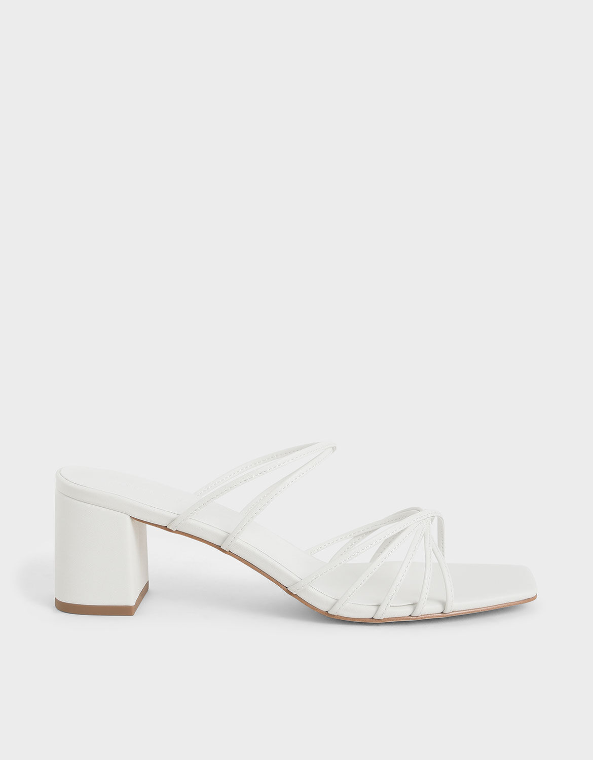Strappy Square Toe Sandals | CHARLES