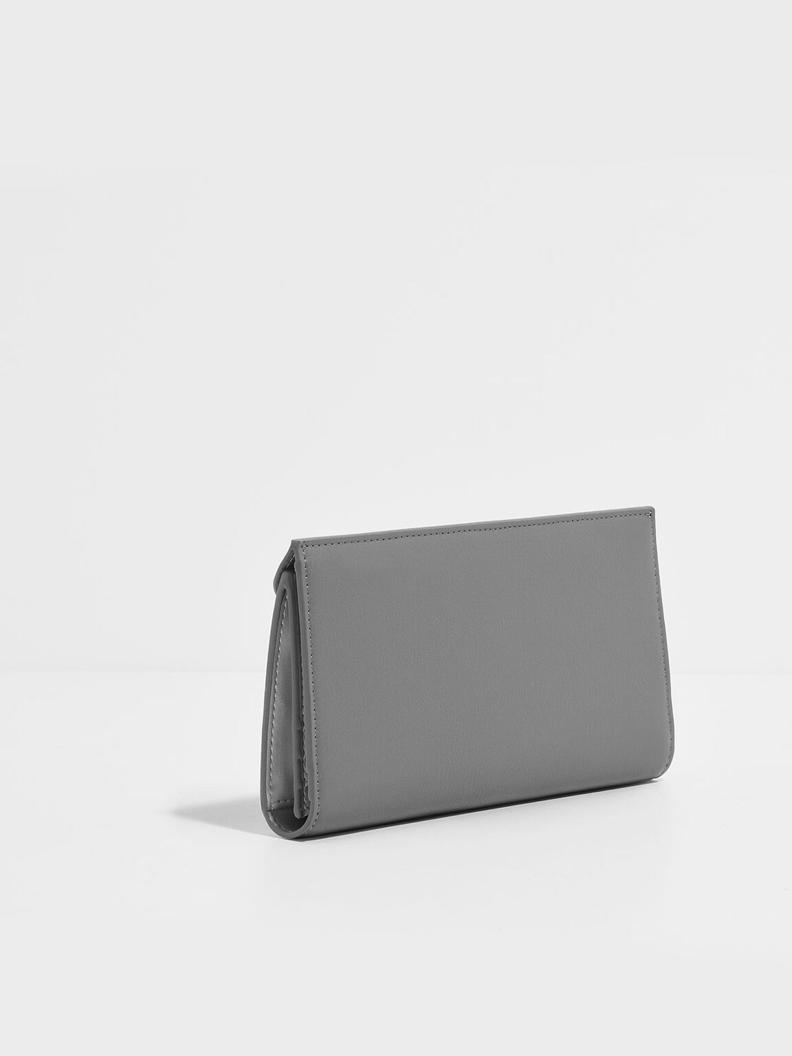 Mini Envelope Wallet, Grey, hi-res