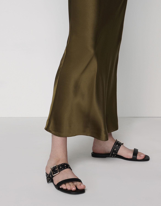 Studded Slide Sandals | CHARLES \u0026 KEITH KR