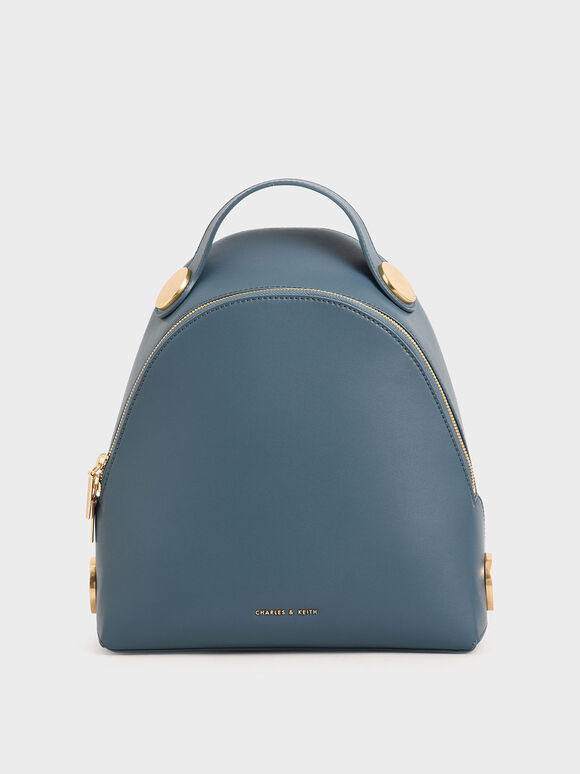 Large Dome Backpack, Blue, hi-res
