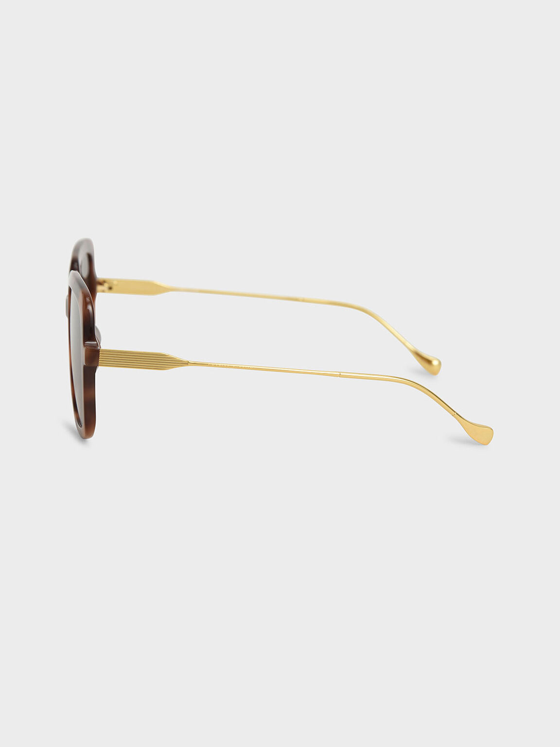 Square Acetate Tortoiseshell Sunglasses, T. Shell, hi-res