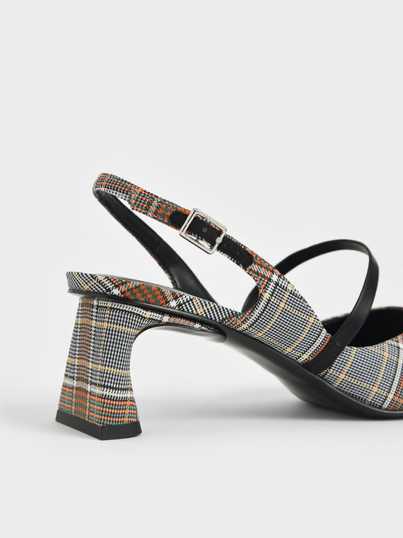 瑪莉珍尖頭跟鞋, 灰色, hi-res