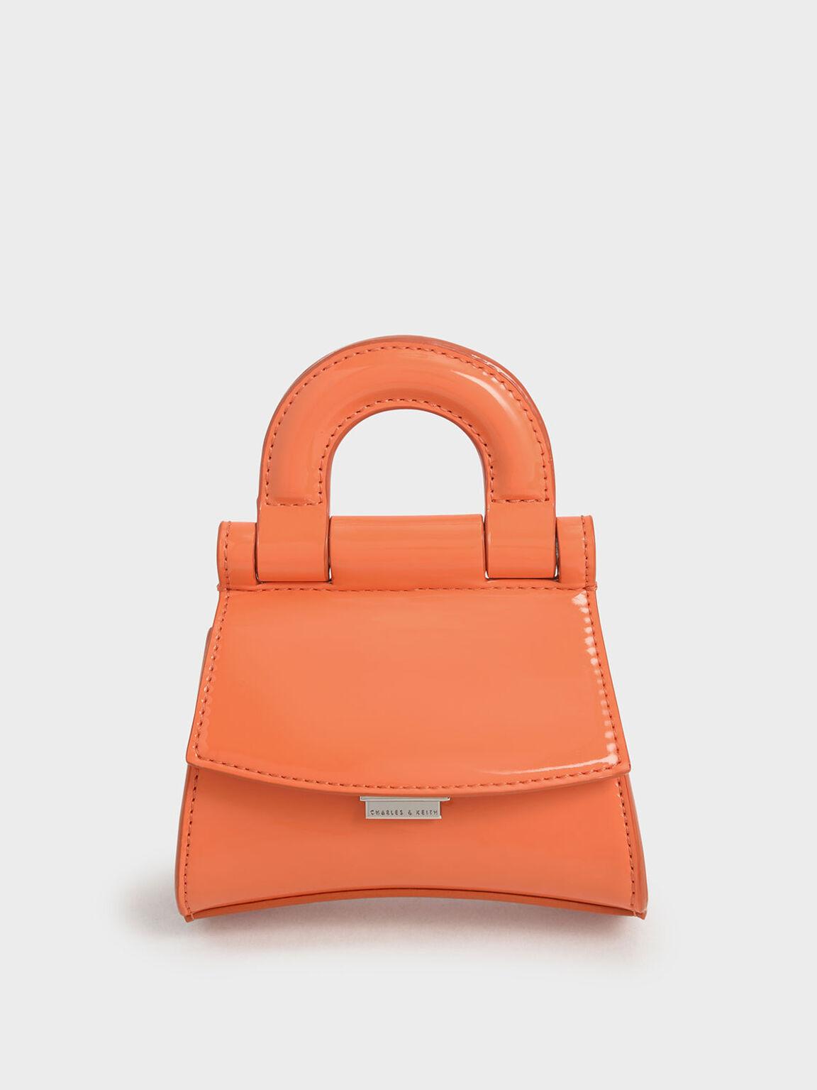 迷你手提包, 橘色, hi-res