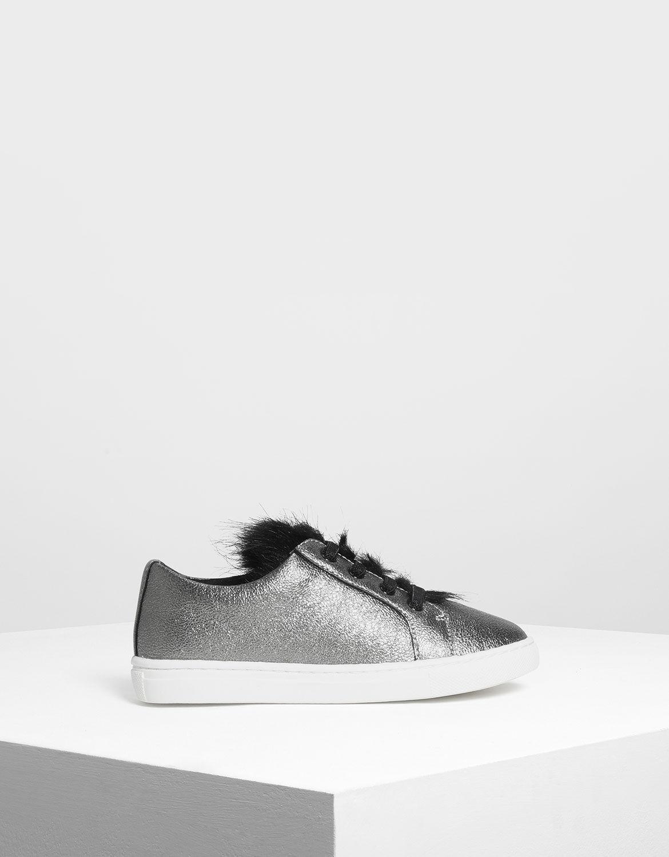 Kids Metallic Sneakers | CHARLES \u0026 KEITH SG
