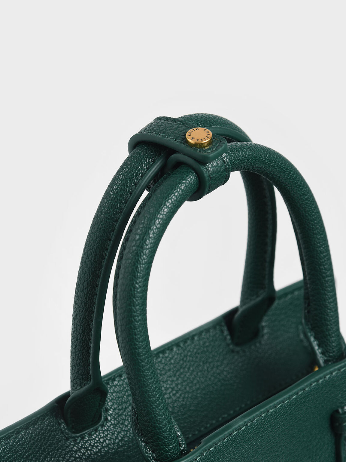 Elongated Tote Bag, Green, hi-res