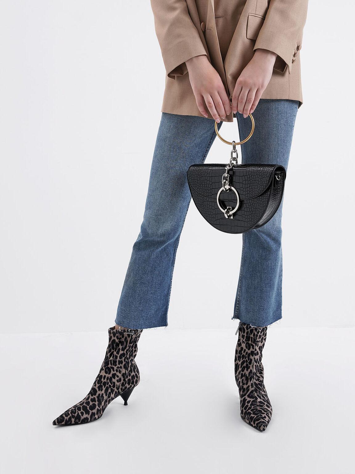 豹紋尖頭短靴, 混色, hi-res