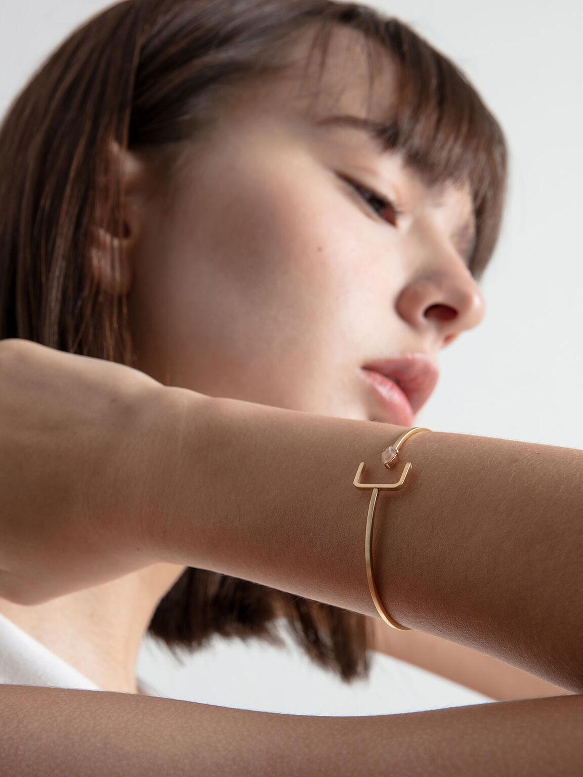 Sunstone Cuff Bracelet, Bronze, hi-res
