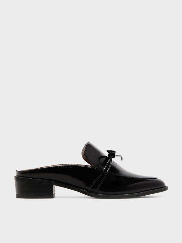 牛津拖鞋, 黑色, hi-res