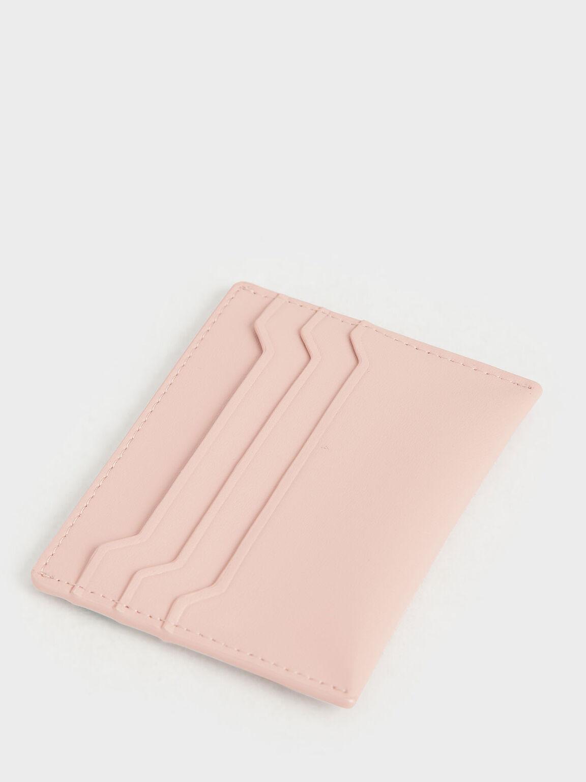 經典票卡夾, 淺粉色, hi-res