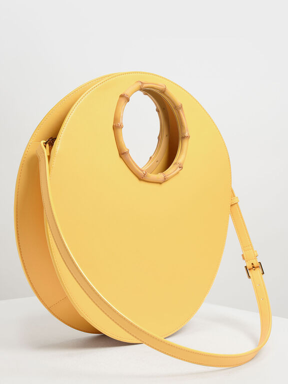 Circular Bag, Yellow