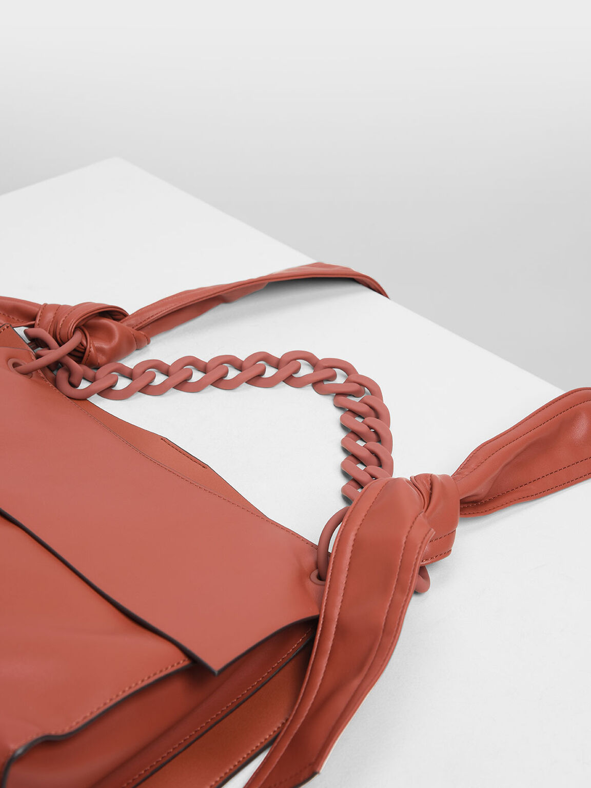 Single Handle Hobo Bag, Clay, hi-res
