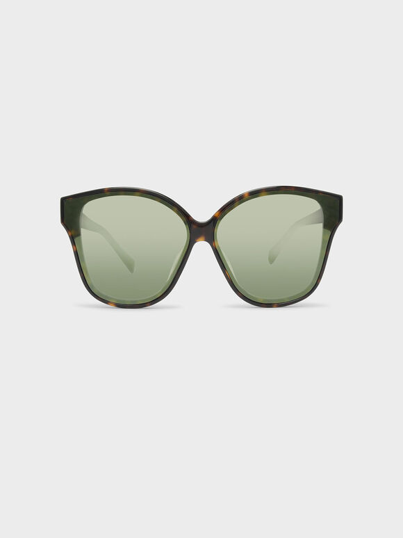 Acetate Frame Sunglasses, T. Shell, hi-res