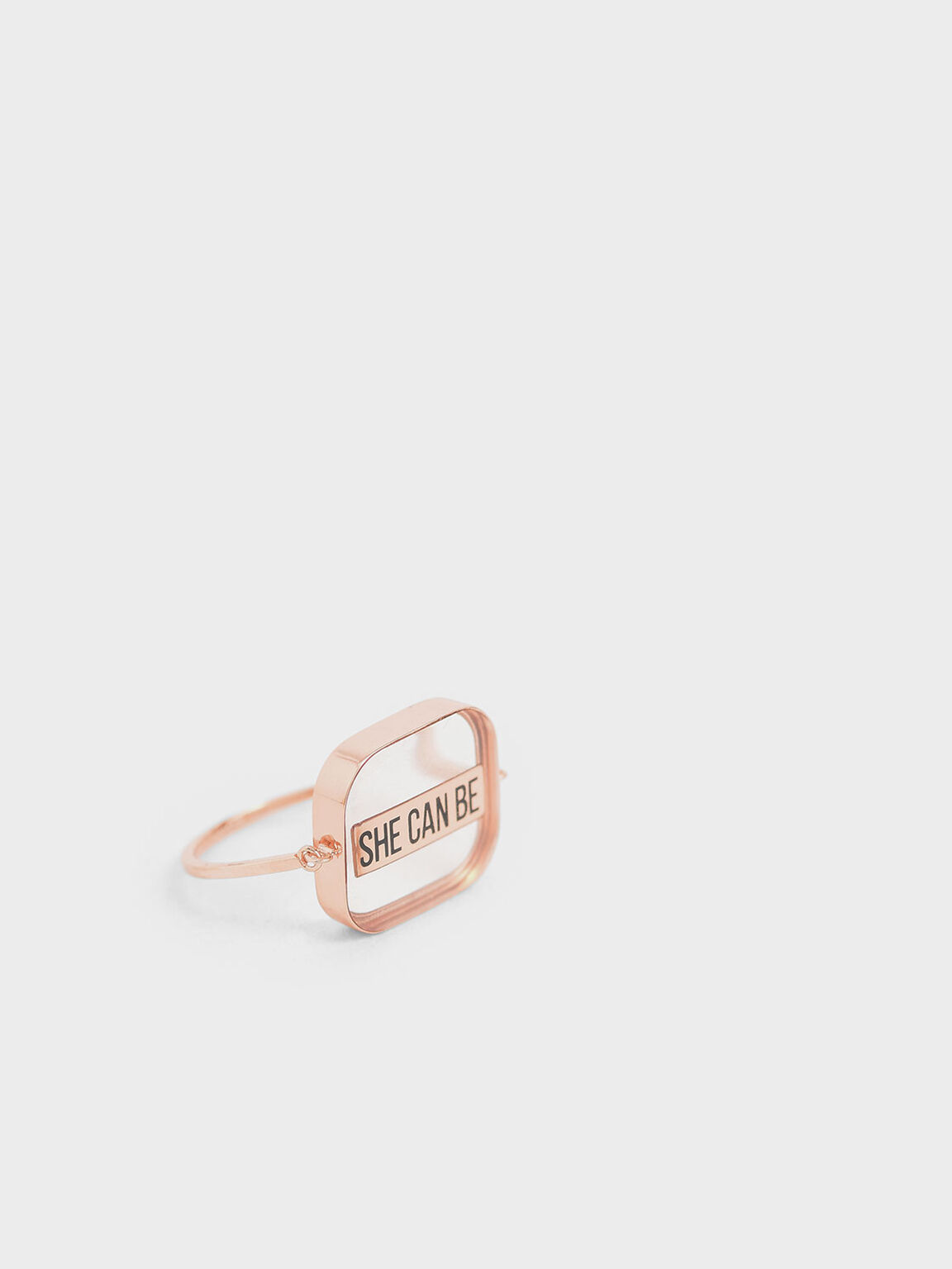 """She Can Be"" Ring, Rose Gold, hi-res"